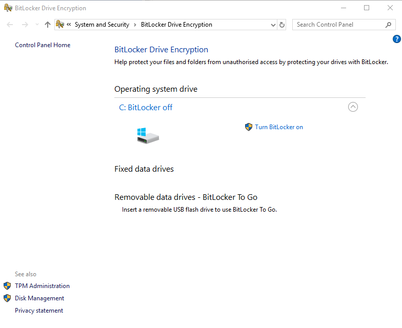 Encryption for free on Windows 10   IT Services & Solutions